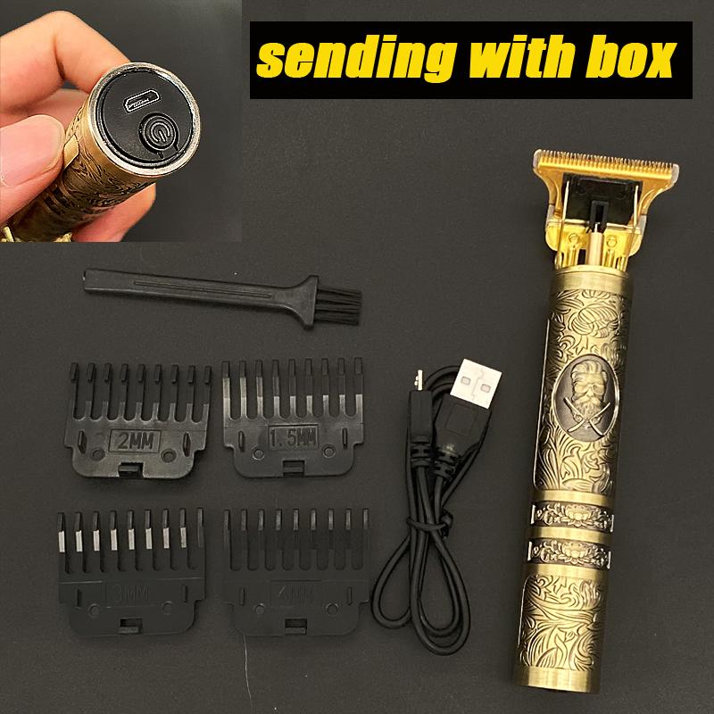 miniature 14 - Tondeuse Cheveux Electrique Professionnelle 2021 Machine Rasoir Barbe USB Hommes