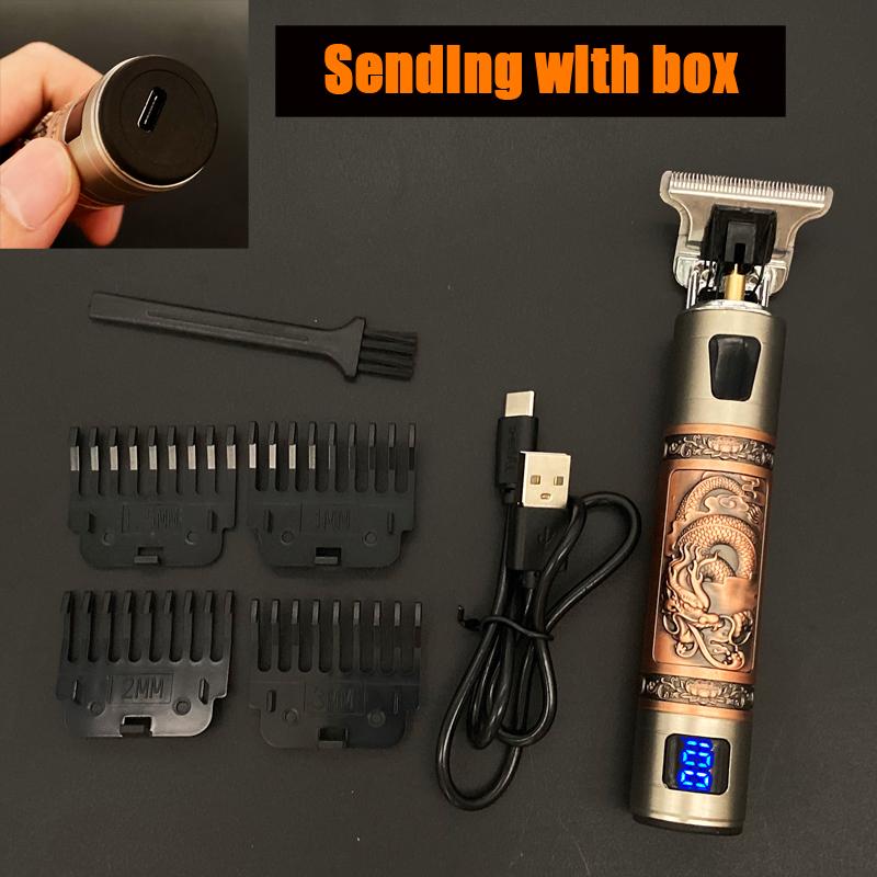 miniature 19 - Tondeuse Cheveux Electrique Professionnelle 2021 Machine Rasoir Barbe USB Hommes
